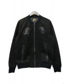 POLO RALPH LAUREN(ポロ・ラルフローレン)の古着「ベトジャン風ブルゾン」|ブラック