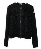 ()の古着「ニットカーディガン」|ブラック