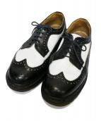 Dr.Martens(ドクターマーチン)の古着「ブローグシューズ」|ホワイト×ブラック