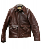 THE FEW(ザ・フュー)の古着「CRUSADERSジャケット」|ブラウン