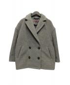 LONDON Tradition(ロンドントラディション)の古着「オーバーサイズPコート」|グレー