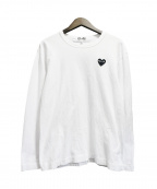 PLAY COMME des GARCONS()の古着「長袖Tシャツ」|ホワイト
