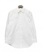Martin Margiela4(マルタンマルジェラ 4)の古着「ハの字無地シャツ」 ホワイト