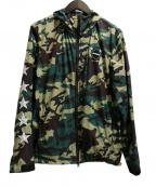 F.C.R.B.×NIKE(エフシーリアルブリストル×ナイキ)の古着「Camo Practice Jacket」|グリーン