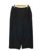 DEUXIEME CLASSE(ドゥーズィエム クラス)の古着「アササルファーゾメスカート」|ブラック