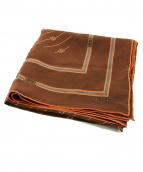 ()の古着「ヴィンテージスカーフ」|ブラウン