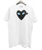 ()の古着「ハートプリントTシャツ」|ホワイト