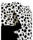 中古・古着 VERMEIL par iena (ヴェルメイユ パー イエナ) レオパード プリントタックフレアスカート ブラウン サイズ:38:12800円