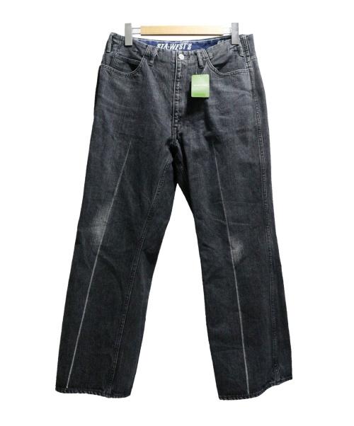 STA-WESTS(スターウエスト)STA-WESTS (スターウエスト) デニムパンツ インディゴ サイズ:W34 未使用品 19SSPT87FSの古着・服飾アイテム