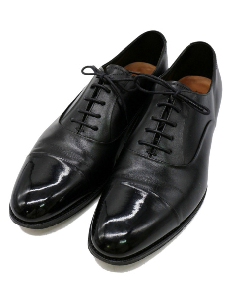 UNION IMPERIAL(ユニオンインペリアル)UNION IMPERIAL (ユニオンインペリアル) ストレートチップシューズ ブラック サイズ:7の古着・服飾アイテム