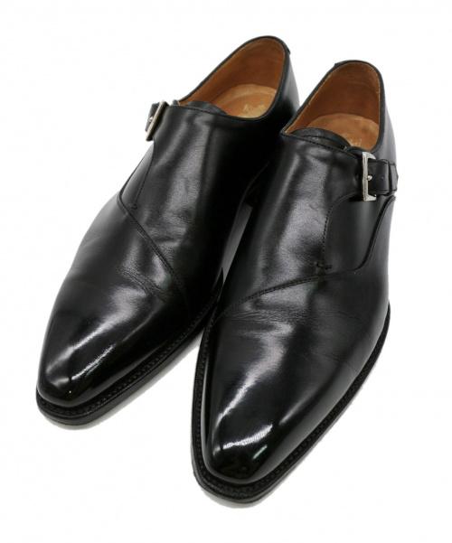 42ND ROYAL HIGHLAND(フォーティーセカンドロイヤルハイランド)42ND ROYAL HIGHLAND (フォーティーセカンドロイヤルハイランド) シングルモンクストラップシューズ ブラック サイズ:6の古着・服飾アイテム