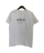 SUPREME(シュプリーム)の古着「Anno Domini Tee」|ホワイト