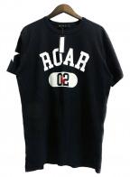roar(ロアー)の古着「プリントTシャツ」|ブラック