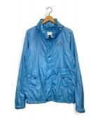 ()の古着「ナイロンジャケット」|ブルー