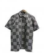 DEUS EX MACHINA(デウス エクス マキナ)の古着「SENNA CHECK SHIRTS」|グレー
