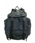 DOLCE & GABBANA(ドルチェ&ガッバーナ)の古着「ジップデザインバックパック」|ブラック