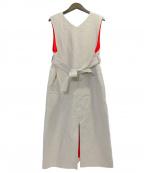 CINOH(チノ)の古着「Linen Dress」|アイボリー
