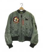 BUZZ RICKSON'S(バズリクソンズ)の古着「MA-1フライトジャケット」 カーキ