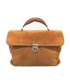 zanellato(ザネラート)の古着「スエードハンドバッグ」|ブラウン