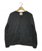 Snow peak(スノーピーク)の古着「Flexible Insulated Cardigan」|ブラック