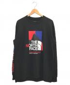 THE NORTH FACE()の古着「L/S KARAKORAM RANGE TEE」|ブラック