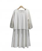 自由区(ジユウク)の古着「セットアップブラウス」|ホワイト