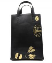 COMME des GARCONS(コムデギャルソン)の古着「ペイントハンドバッグ」|ブラック