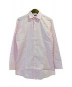 GUCCI(グッチ)の古着「GG総柄ワイドカラーシャツ」|ピンク
