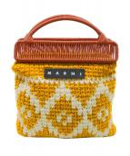MARNI(マルニ)の古着「コットンブレンドフレームバッグ」|パイナップル