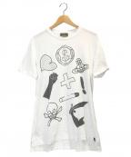 Vivienne Westwood(ヴィヴィアンウエストウッド)の古着「プリントTシャツ」|ホワイト