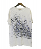 BURBERRY(バーバリー)の古着「Becklow Standard Fit Graphic T」|ホワイト