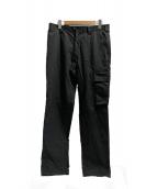 ()の古着「混紡コットンカーゴパンツ」|ブラック