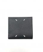 MARTIN MARGIELA(マルタン・マルジェラ)の古着「2つ折り財布」|ブラック
