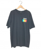 DIESEL()の古着「T-JUST-ZB Braves Flag T-Shirt」|ブラック