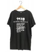 DIESEL(ディーゼル)の古着「T-SULLY-BD T-SHIRT」|ブラック