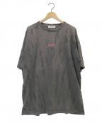 MONKEY TIME(モンキータイム)の古着「タイダイTシャツ」|ブラック