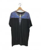 MARCELO BURLON(マルセロバーロン)の古着「プリントTシャツ」|ブラック