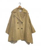ETRE TOKYO(エトレトウキョウ)の古着「TENT COAT」|ベージュ