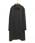 BALENCIAGA()の古着「BOXYカーコート」|ブラック