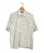 ()の古着「総柄カプセルS/Sシャツ」 グレー