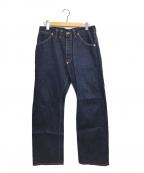 PHIGVEL MAKERS(フィグベルマーカーズ)の古着「デニムパンツ」|インディゴ