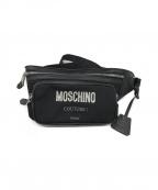 MOSCHINO(モスキーノ)の古着「クチュール ウエストポーチ」|ブラック