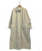 Lisiere(リジェール)の古着「CTN * NYLON Long Coat」|ベージュ