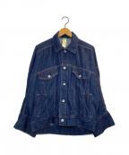 nagonstans(ナゴンスタンス)の古着「オーバーサイズデニムジャケット」|インディゴ