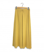toteme(トーテム)の古着「フレアスカート」|イエロー