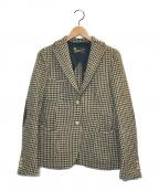 L'appartement(アパルトモン)の古着「チェックジャケット」|ベージュ