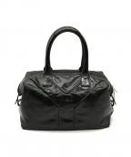 Yves Saint Laurent Rive Gauche(イヴ・サンローラン リヴ・ゴーシュ)の古着「ハンドバッグ」|ブラック