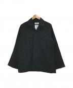 MARKAWARE(マーカウェア)の古着「ユーティリティシャツジャケット」|ブラック