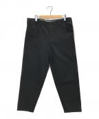 SUNSEA(サンシー)の古着「CHINO PANTS」 ブラック