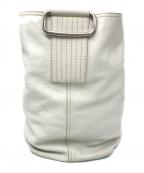 PRADA(プラダ)の古着「レザーバッグ」 ホワイト